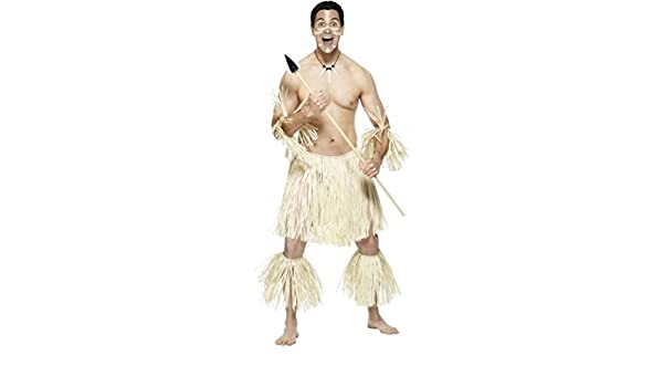 Smiffys Disfraz De Guerrero Zulú Africano para Hombre: Amazon.es ...