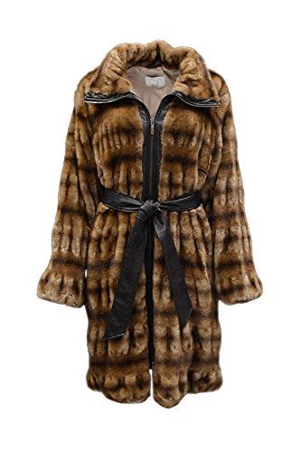 voyage-marina-rinaldi-womens-palombo-faux-fur-coat-sz-14-brown-130019mm