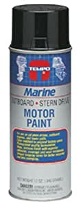 Moeller Evinrude Engine Spray Paint, Light Blue