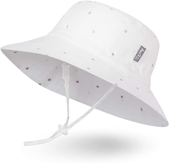 Ami/&Li tots Chapeau de Soleil pour B/éb/é Fille Gar/çon Nourrisson Enfants Tout-Petit Unisexe R/églable Chapeau Bob Protection Solaire UPF 50