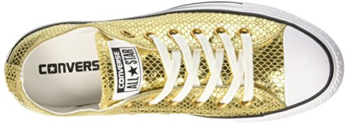Ox Black White Gold Or Femme Converse CTAS Sneakers fqxawPS