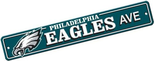 NFL Philadelphia Eagles Plastic Street Sign