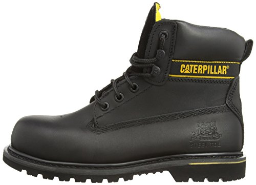 Cat Footwear Holton sb, Stivali antinfortunistici uomo, Nero, 43