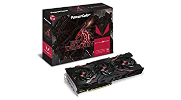 PowerColor AMD Radeon Vega 56 RED Dragon HBM2 8GB 2 x HDMI / 2 x  DisplayPort Graphics Card (AXRX Vega 56 8GBHBM2-2D2HD/OC)