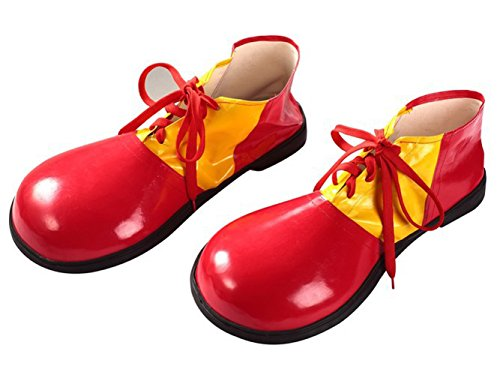 Shoes Clown (Genluna Men's Clown Shoes Deluxe Onesize)