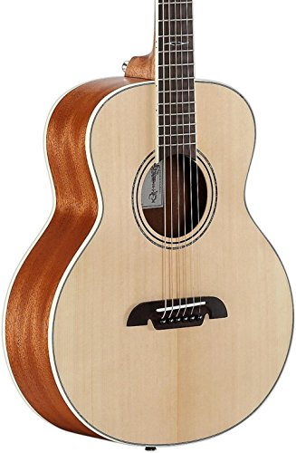 Alvarez LJ2E Little Jumbo Travel Guitar with Deluxe Gig Bag & EQ Alvarez Acoustic Guitar Picks