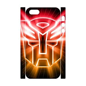3D Print Classic Comics Series&The Transformers Theme Case Cover for iPhone 5/5S- Personalized Hard Cell Phone Back Protective Case Shell-Perfect as gift