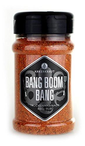 Bang Boom Bang, BBQ-Rub im Streuer, 210 gr