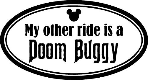 My Other Ride Is a Doom Buggy Sticker Decal Available in All Colors , Just Message Me !
