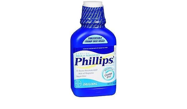 Amazon.com: Phillips Milk of Magnesia, Original 26 fl oz, Pack of 6: Health & Personal Care