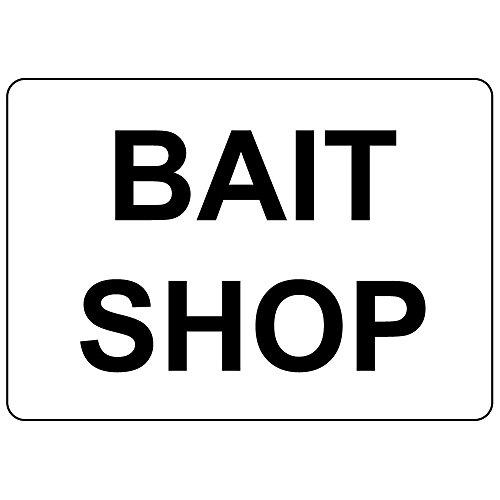 Fastasticdeals Bait Shop 10X14 Aluminum Metal Sign