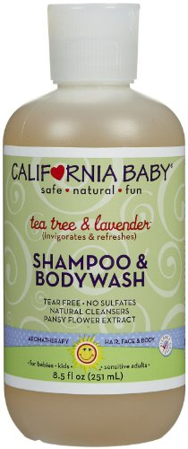 California Baby Tea Tree Shampooing Lavande & & Body Wash - 8,5 oz