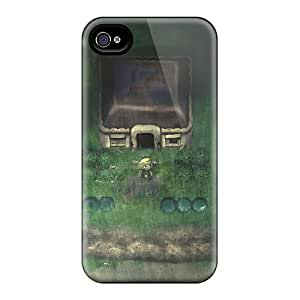 Scratch Resistant Hard Phone Cover For Iphone 6 (aNn5555EUBG) Allow Personal Design Realistic Legend Of Zelda Pictures
