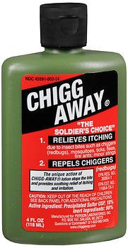 Chigg Away Anesthetic - 4 oz, Pack of 6 by Humco