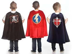 Boys Cape Set with Prince, Pirate and Superhero