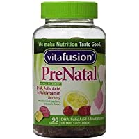VitaFusion PreNatal Adult Vitamins, Natural Lemon, Raspberry & Lemonade Flavo...