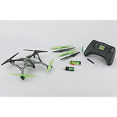 Dromida Vista Unmanned Aerial Vehicle (UAV) Quadcopter Ready-to-Fly (RTF) Drone with Radio System, Batteries and USB Charger (White): Toys & Games