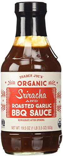 Organic Sriracha & Roasted Garlic BBQ Sauce 19.5 Oz