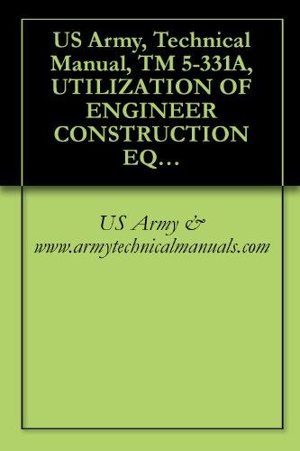 us army technical manual tm 5 331a utilization of engineer rh amazon com Machine Gun Manuals Instruction Manual Icon