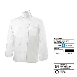 MISEMIYA - Chaquetas Chef Cocinero Manga Larga 6