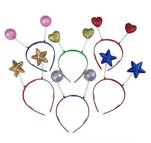 (Rhode Island Novelty Assorted Sparkle Head Boppers | Set of)