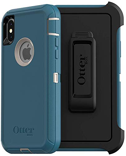 OtterBox Defender Series Case for iPhone Xs & iPhone X - Non-Retail Packaging - Big Sur