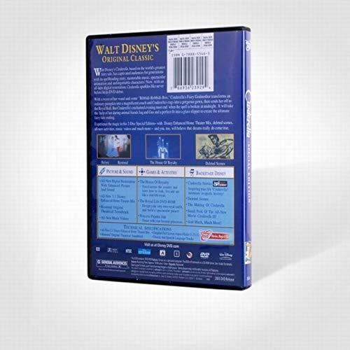 Cinderella Movie DVD (2-Disc) Special Platinum English Edition by Latim (Image #1)