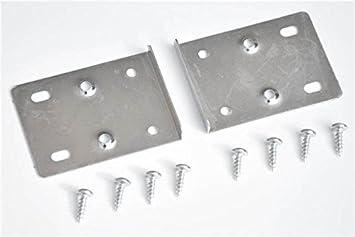 Kitchen Cupboard Door Hinge Repair Kit Includes 10 Plates And Fixing Screws Amazon Co Uk Diy Tools