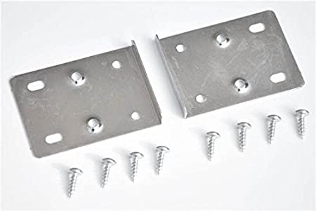 Kitchen Cupboard Door Hinge Repair Kit Includes 10 Plates And Fixing