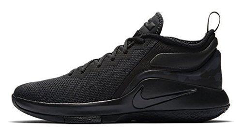 Nike Men Lebron Witness Ii Nero Tessile / Sintetico Sneaker Nero (nero / Antracite)