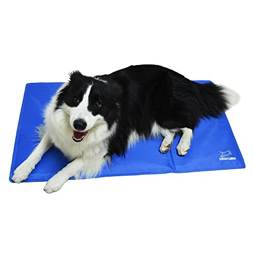 EXPAWLORER Pet Cooling Gel Pad, Comfort Non-Toxic Cold Mat for Dogs Cats