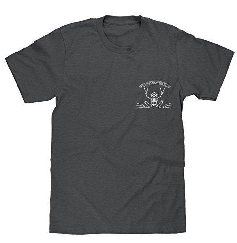 peace-frogs-rowing-skeleton-licensed-t-shirt-medium