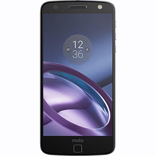 Moto Z XT1650 64GB Smartphone (Black) (Certified Refurbished)