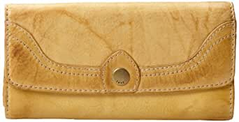 FRYE Campus Large Wallet,Banana,One Size