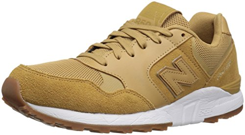 New Balance Men's 850 90S Running Fashion Sneaker, Wheat, 7.5 D US