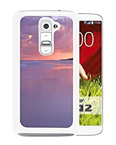 Pure Dreamy Dusk Beach Landscape (2) Durable High Quality LG G2 Phone Case
