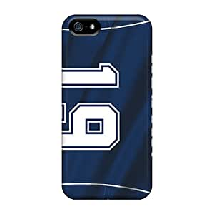 Tpu Case Cover For Iphone 5/5s Strong Protect Case - Dallas Cowboys Design