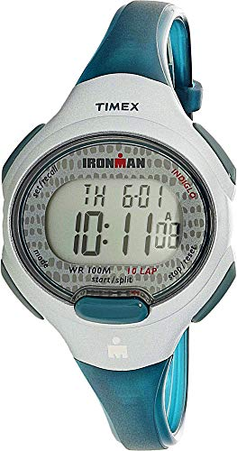 - Timex Women's TW5M10100 Blue Polyurethane Quartz Sport Watch