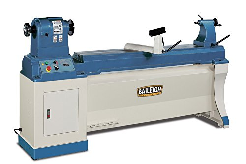 Baileigh WL-2060VS Heavy Duty Variable Speed Wood Turning...
