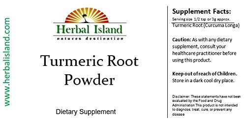 41wr0xp%2B%2BxL - Tumeric Root Powder 4oz (Turmeric - Curcuma Longa) with Free Shipping