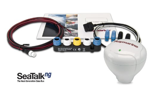 Raymarine Raystar E32119 125+ GPS Antenna with SeaTalk, NMEA 0183, and NMEA 2000 Data Outputs