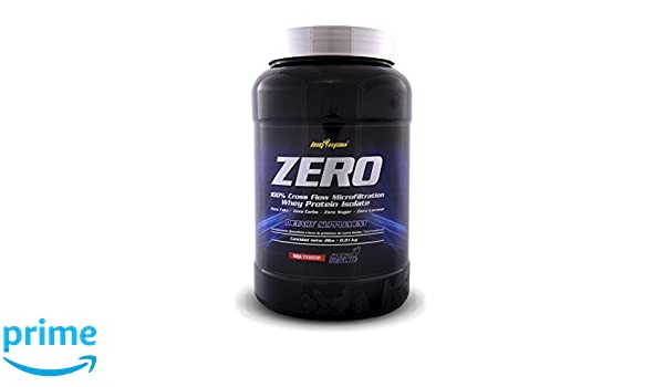 Big Man Nutrition Zero Whey Proteína Isolate, Fresa - 910 gr