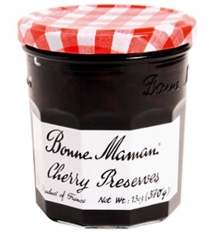 Bonne Maman Preserve, Cherry, 13 Ounce