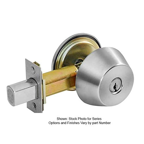 Corbin Russwin DL4113-626-LC Single Cylinder Mortise Deadlock (Less Cylinder)
