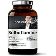 Maximum Strength Sulbutiamine 300 mg - 60 Capsules, Ultra Nootropics Supplements, Cognitive Enhancer, Powerfully Reduces Fatigue, Enhances Memory Learning & Concentration - Non-GMO and Made in USA