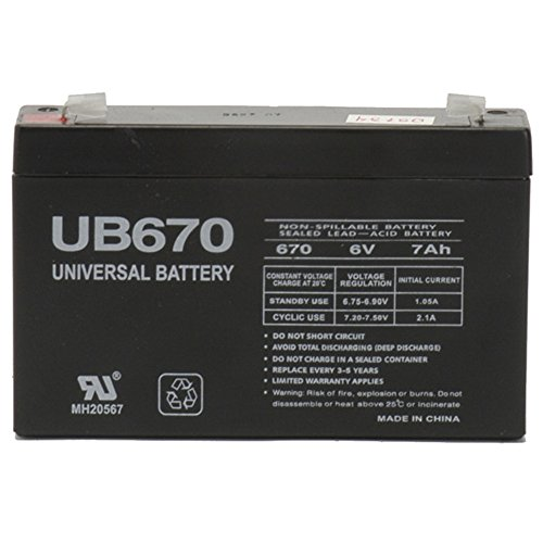 6V 7AH SLA Battery Replacement for Mercedes-Benz SLS AMG