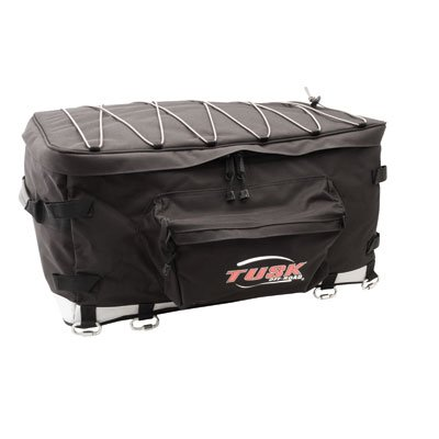 TUSK UTV Storage Pack Black - Fits: Arctic Cat Wildcat Trail 700 2014-2017