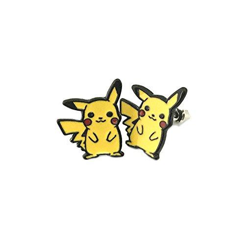 Arrow League Of Assassins Costume For Sale (Athena Pokemon Pikachu Logo Superhero Comics Cartoon Post Stud Earrings In Gift Box)