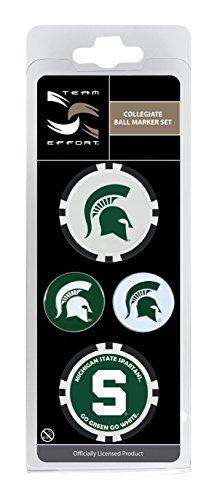 Team Effort Michigan State Spartans Ball Marker Set