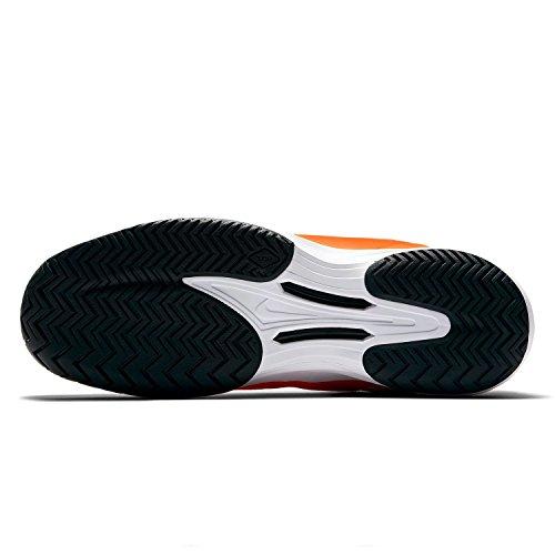 Chaussure Nike Lunar Ballistec 1.5 Orange Noire Été 2017 - 45